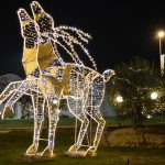 Christmas Lights 3D Reindeer