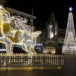 Maidstone Christmas Lights 3D Reindeer and Tree