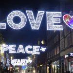 Love, Peace, Fairy bespoke Gala Lights decorations