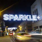 Across street decoration - Sparkle