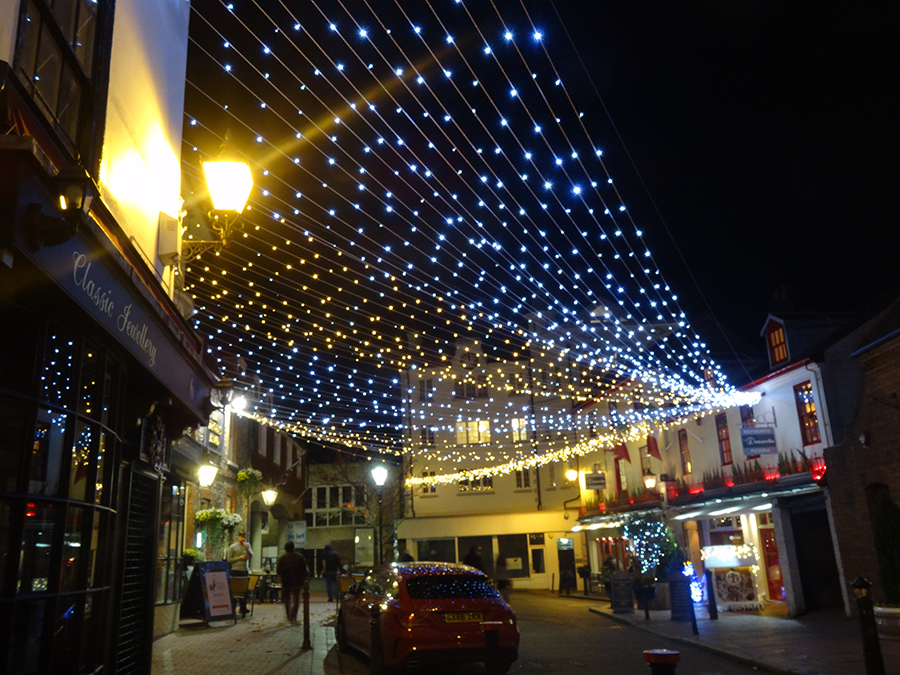 Brighton Place Xmas lights