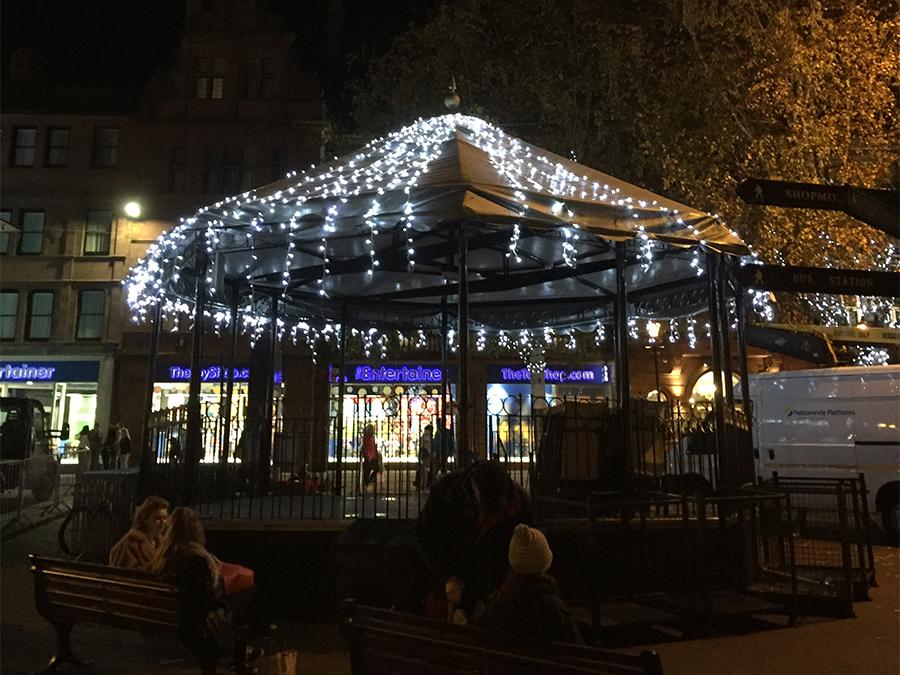 Carlisle bandstand lights