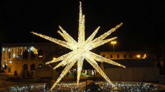 3D LED star bespoke Christmas Lights