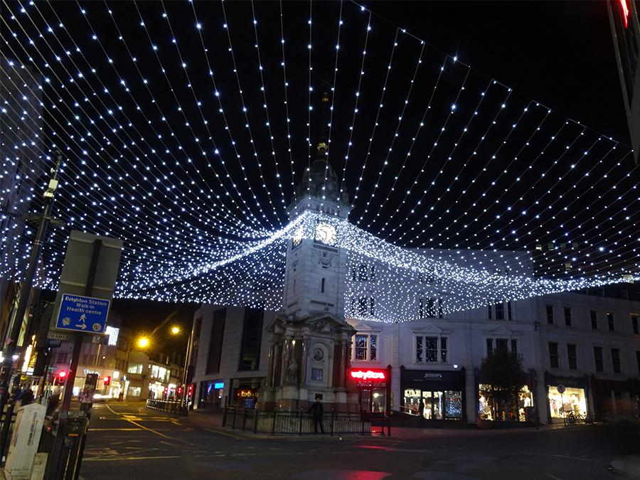 Warm Christmas Lights
