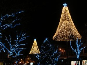 Carlisle Christmas lights and tree lights