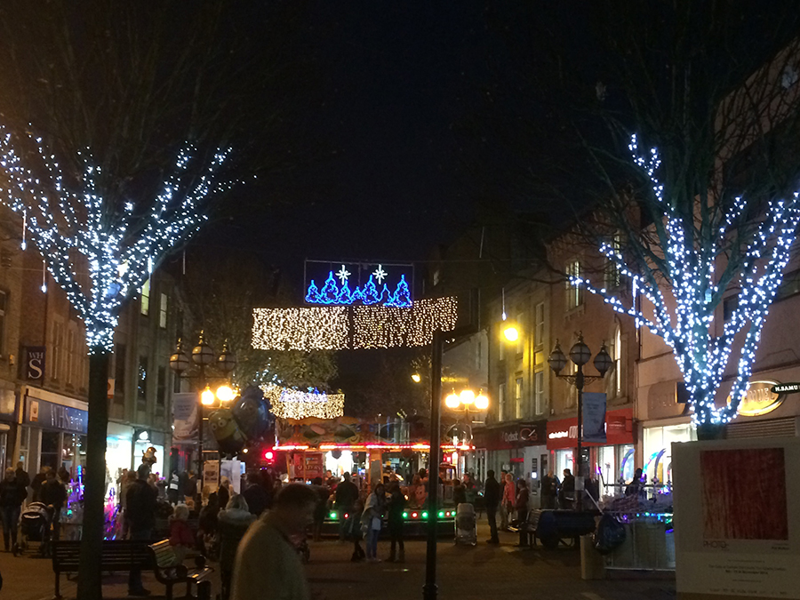Carlisle Christmas lights