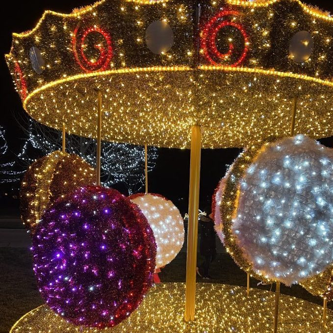 Bespoke 3D Christmas lights